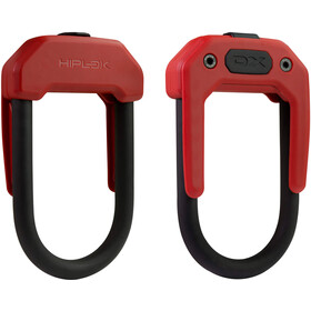 Hiplok DX Bike Lock red/black
